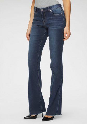 H.I.S Regular-fit-Jeans »Bootcut su ausgefra...