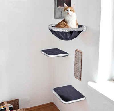 SILVIO design Katzen-Kletterwand, 4-tlg.