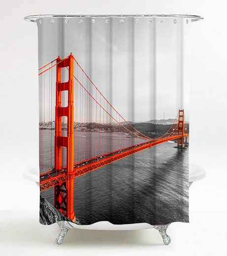 Sanilo Duschvorhang »San Francisco« Breite 180 cm, 180 x 200 cm