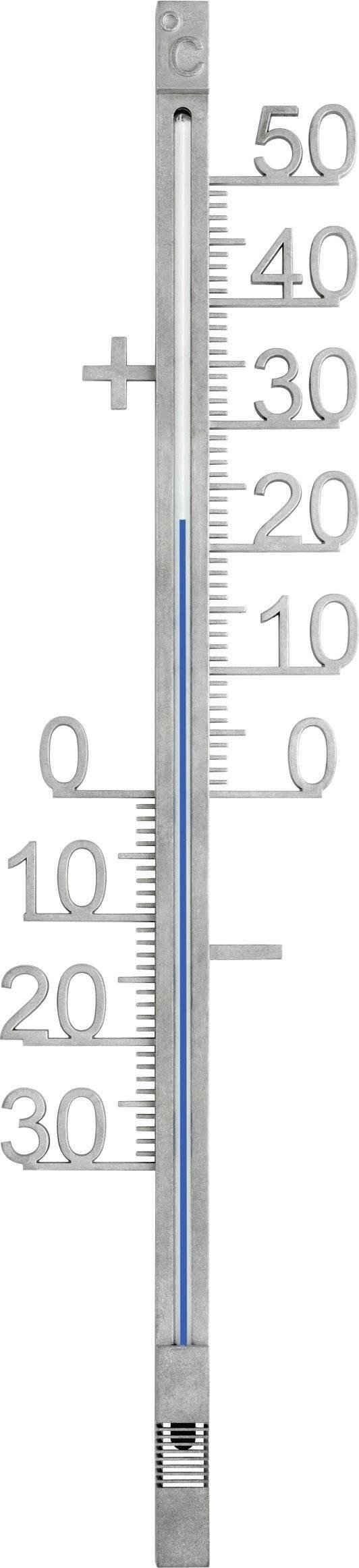 TFA Dostmann »Außenthermometer aus Metall« Funkwetterstation