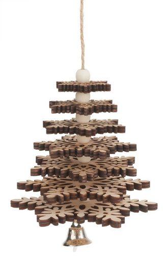 VBS Baumbehang »Weihnachtsbaum Schneeflocke«, 17-tlg.