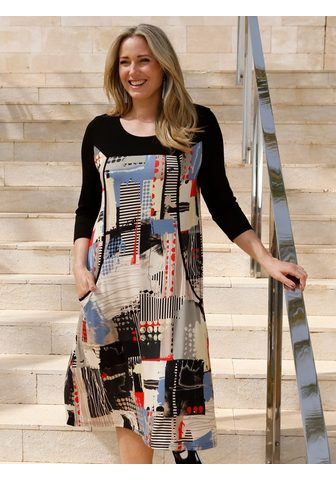 MIAMODA Suknelė su Patchdruck