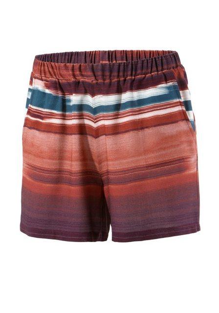 Hosen - Aniston CASUAL Shorts mit gestreiften Batikdruck im Farbverlauf ›  - Onlineshop OTTO