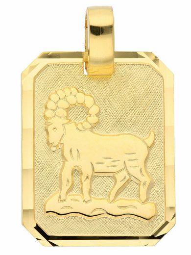 Adelia´s Kettenanhänger »333 Gold Sternzeichen Anhänger Widder«, Goldschmuck für Damen & Herren