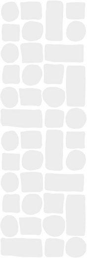 KLEINE WOLKE Selbstklebefolie »Transparent«, für Badezimmer- und Duschtrennwände