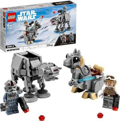 LEGO® Konstruktionsspielsteine »AT-AT™ vs. Tauntaun™ Microfighters (75298), LEGO® Star Wars™«, (205 St), Made in Europe