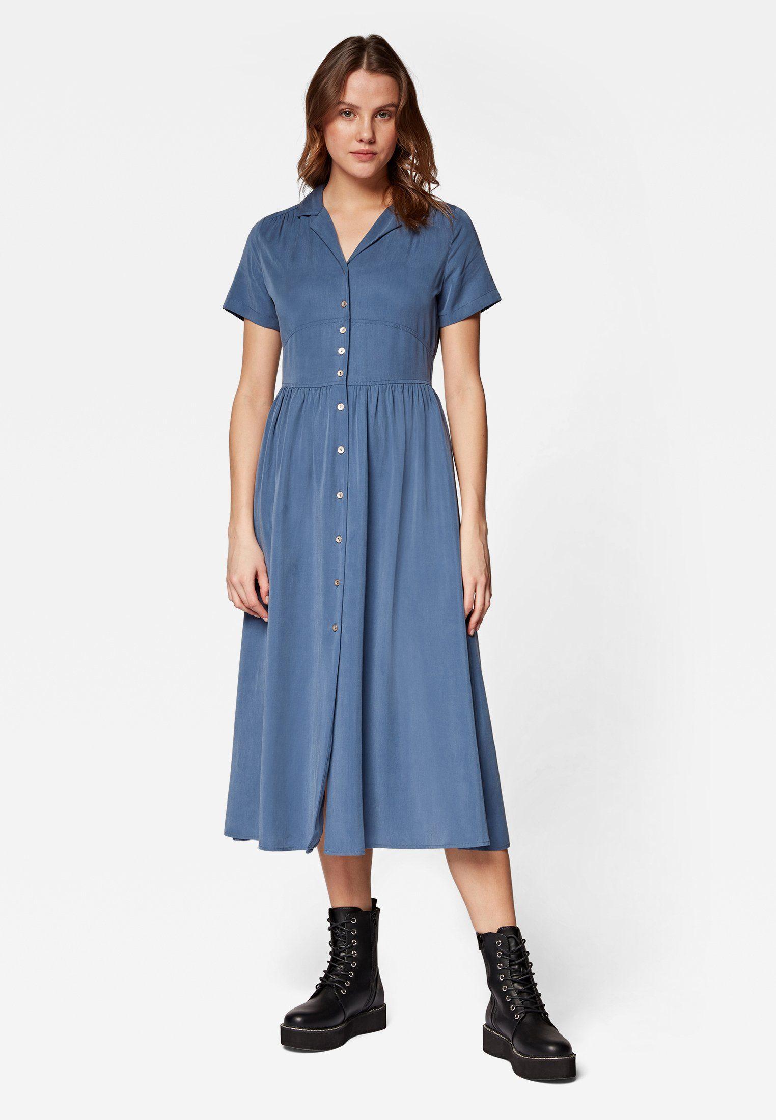 Mavi Jeanskleid DENIM DRESS Jeanskleid, Lässiges Midi-Kleid mit kurzen Ärmeln