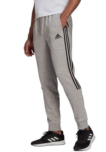 adidas Performance Jogginghose »ESSENTIALS TAPERED CUFF 3 STRIPES PANTS«