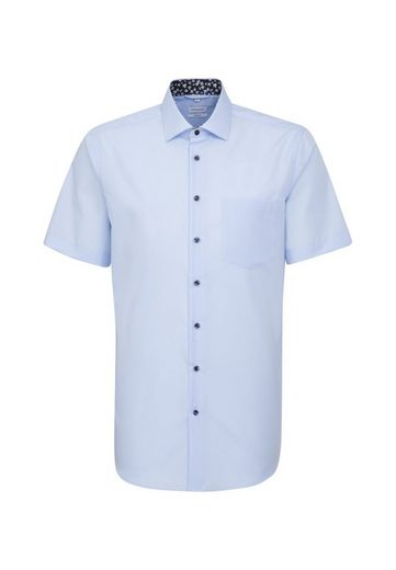 seidensticker Businesshemd »Comfort« Comfort Kurzarm Kentkragen Uni