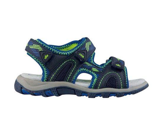 Lico »Lico Kinder Sandale LUCA V 470117 blau / lemon« Sandale