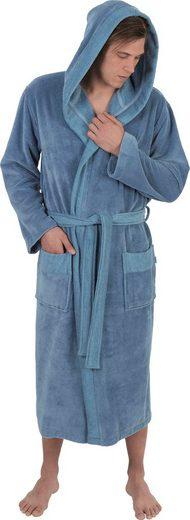 Herrenbademantel »1023«, Wewo fashion, mit Soft-Touch
