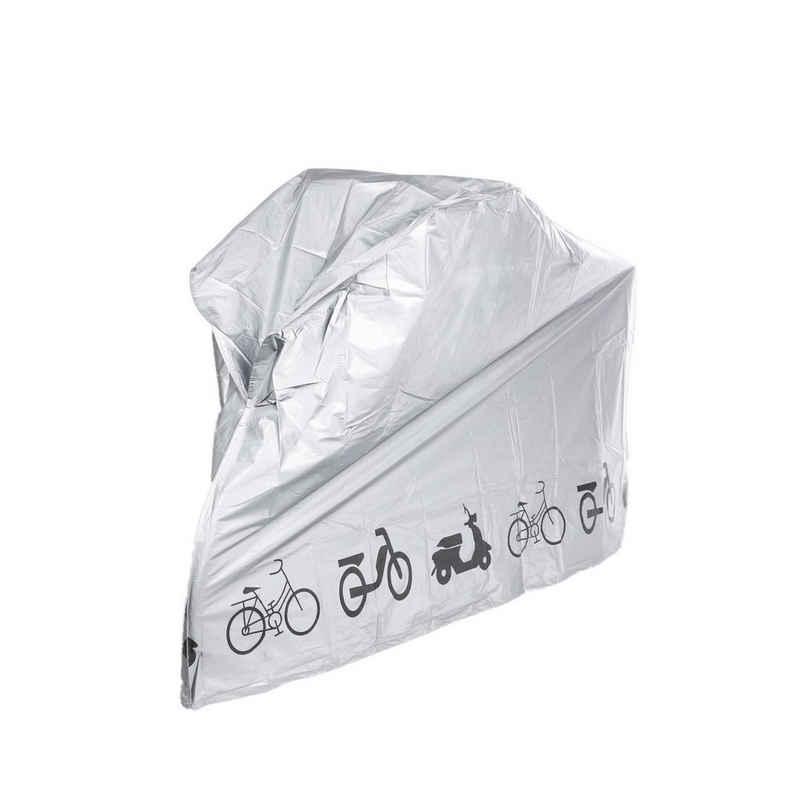 Haushalt International Fahrradschutzhülle »80x110x210 cm − Schutzhülle mit Klickverschluss − Fahrradplane wasserdicht« (1-St)
