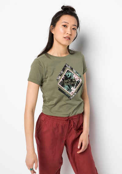 Jack Wolfskin T-Shirt »TROPICAL SQUARE T W«