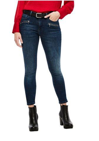 s.Oliver Skinny-fit-Jeans su puikus Reißverschl...