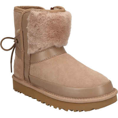 UGG »1105354-AMP W CLASSIC LEOPARD LINED BOW« Stiefel