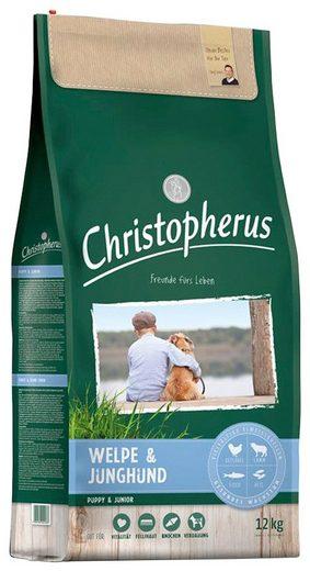 CHRISTOPHERUS Hundetrockenfutter »Welpe - Junghund«, 12 kg