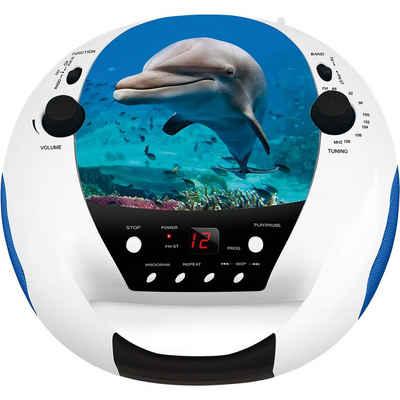 BigBen »CD-Player mit Radio CD52, Birds« CD-Player
