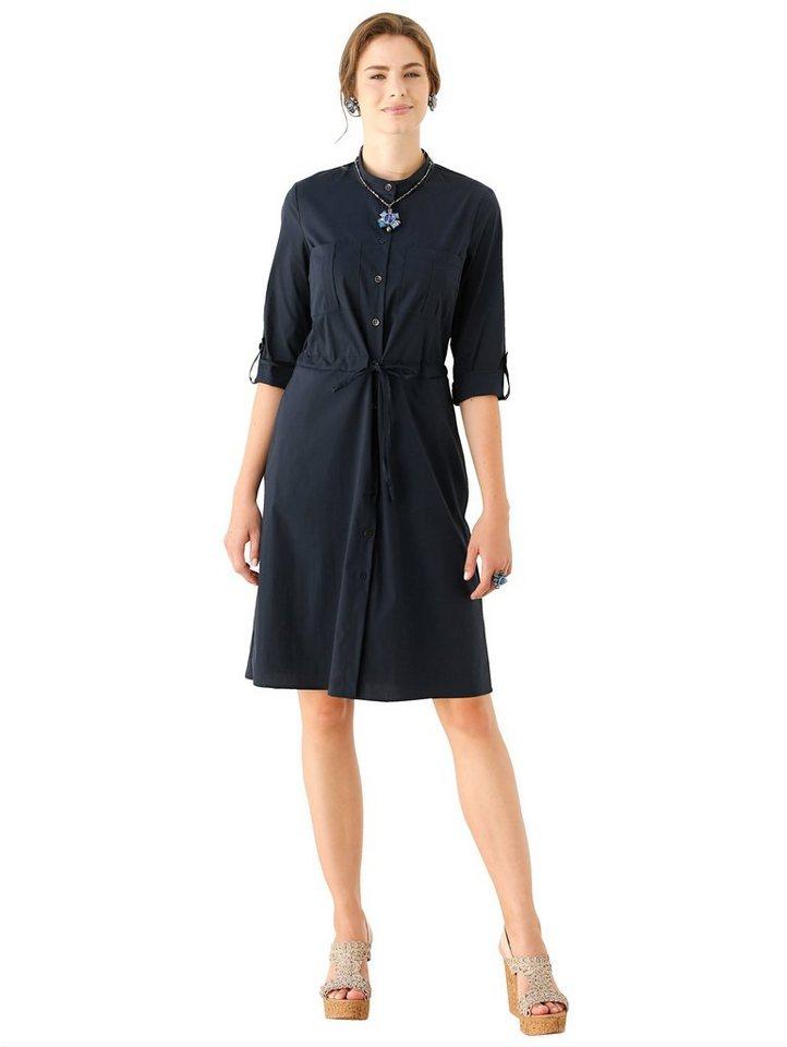 Amy Vermont Kleid in edler Qualität, Ärmel mit ...