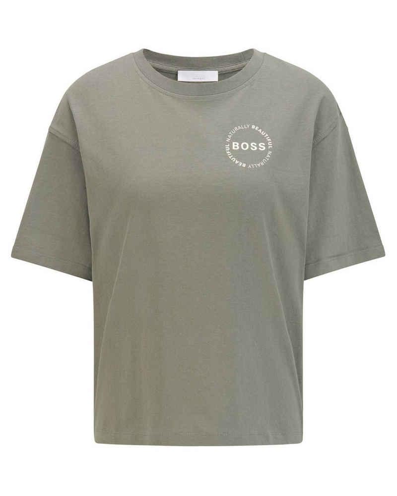 "Boss T-Shirt »Damen T-Shirt ""ElvinaSlogan1_Activ""«"