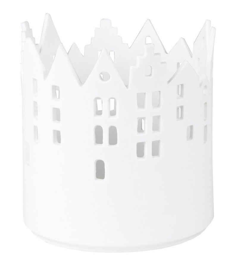 Räder Design Teelichthalter »Stadtlicht Marktplatz« (Einteilig, 1 Stück), Lichthaus für Teelichter