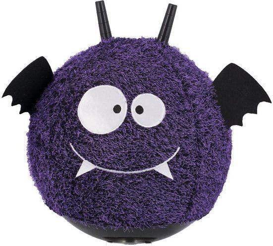 JOHN Hüpfspielzeug »Little Monster Hüpfball mit Plüschüberzug«