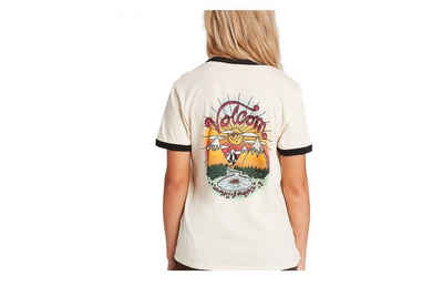 Volcom T-Shirt »Volcom Damen Shirt Matt Adams creme«