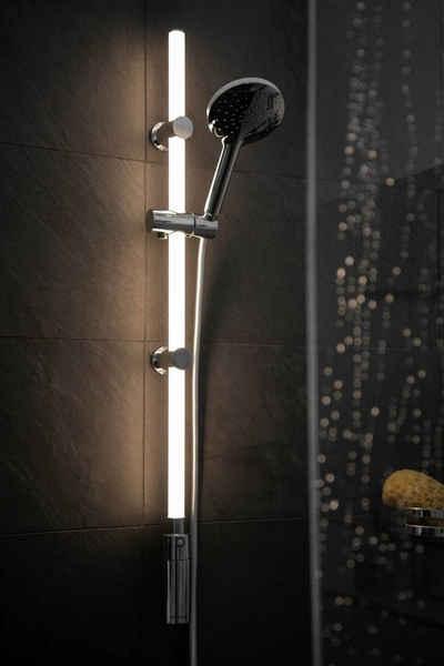 WENKO Duschstange »LED«, mit warmweißer LED-Beleuchtung, 94 cm Länge, ohne Brausegarnitur