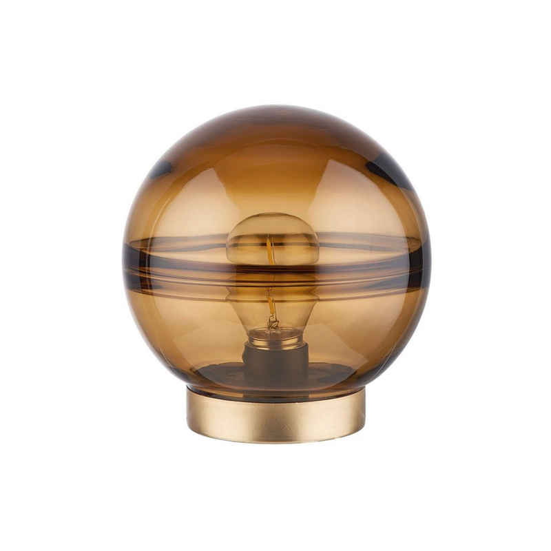 BUTLERS LED Außen-Tischleuchte »SOFT NORDIC LED-Leuchte Amber Höhe 17cm«