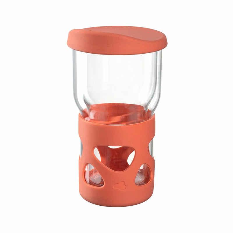 LEONARDO Coffee-to-go-Becher »IN GIRO Orange 350 ml«, Glas