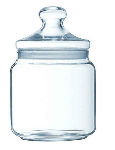 Luminarc Vorratsdose »Big Pot Club«, Glas, Dose mit Deckel Vorratsglas Bonbondose 1.5 Liter Glas transparent 1 Stück