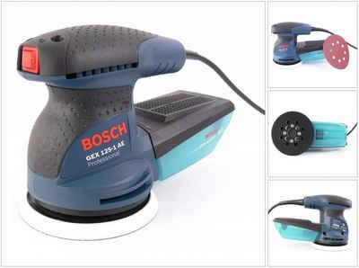 Bosch Professional Exzenterschleifer »Bosch GEX 125-1 AE Exzenterschleifer 250 Watt 125 mm (0601387500)«