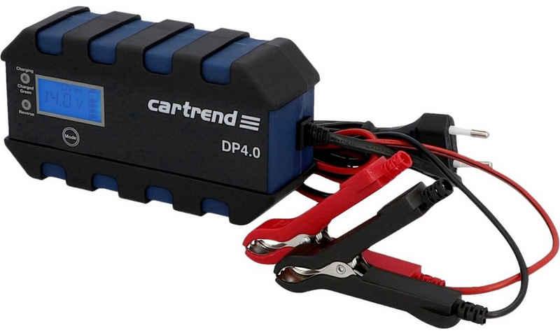 Cartrend »Batterieladegerät DP 4.0« Autobatterie-Ladegerät (Packung, Ausgangsstrom 4)