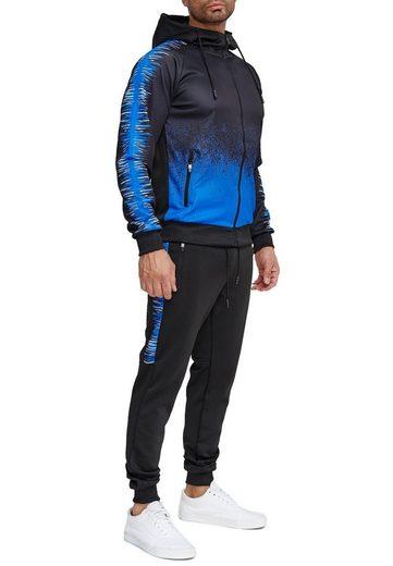 Egomaxx Trainingsanzug »3579«, Herren Slim Fit Trainingsanzug Casual Basic Streetwear Sportanzug