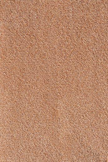 Teppichboden »Levin kupfer«, Andiamo, rechteckig, Höhe 10 mm, Meterware, Breite 500 cm, rutschsicher, schallschluckend