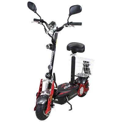 eFlux E-Scooter »Street 40 Elektroroller«, 800 W, 35 km/h, E-Scooter mit Straßenzulassung