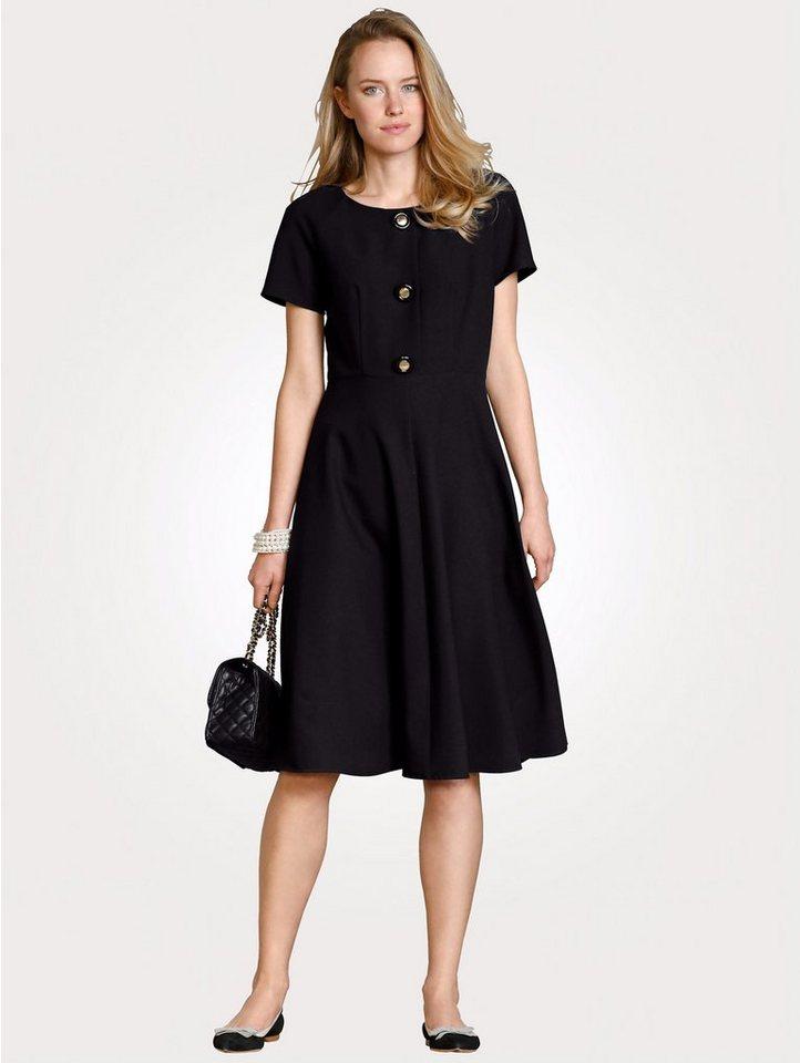 Festtagsmode - Mona Kleid in bewährter Ganzjahres Qualität › schwarz  - Onlineshop OTTO