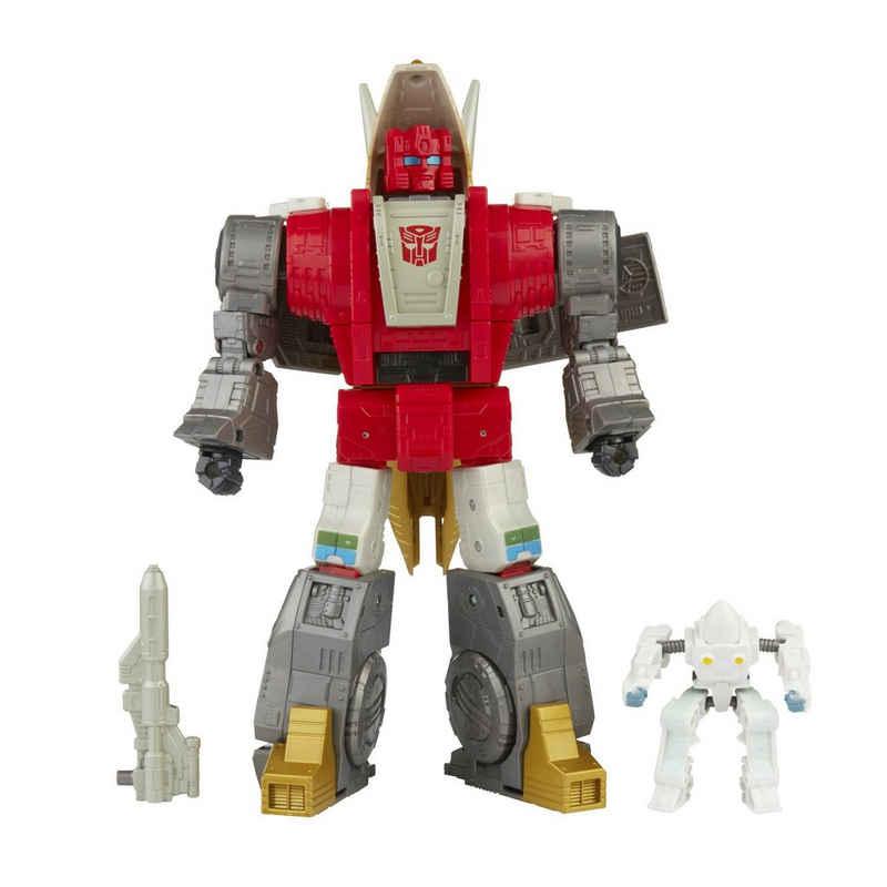 Hasbro Actionfigur »Transformers - Studio Series - DINOBOT SLUG & DANIEL WITWICKY inklusive Kulisse«