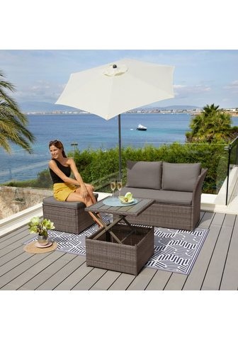 KONIFERA Loungeset »Marseille Premium« (7-tlg) ...