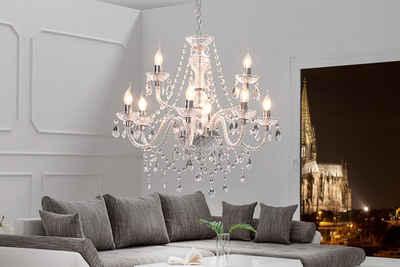 riess-ambiente Kronleuchter »CRYSTAL 75cm klar«, Hängelampe · Wohnzimmer · Acryl · Schlafzimmer · Barock Design