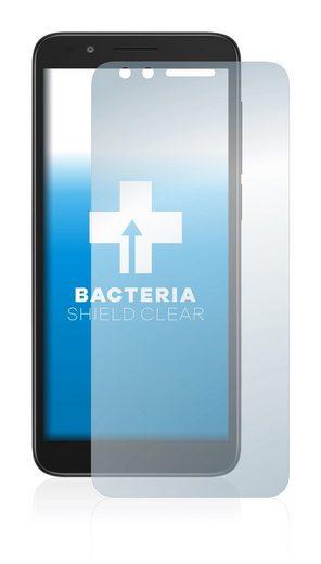 upscreen Schutzfolie »für Alcatel Avalon V«, Folie Schutzfolie klar antibakteriell