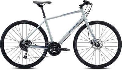 FUJI Bikes Fitnessbike »Absolute Disc 1.7«, 18 Gang Shimano Alivio shadow Schaltwerk, Kettenschaltung