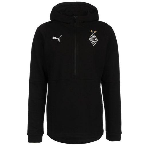 PUMA Kapuzenpullover »Borussia Mönchengladbach Casuals«