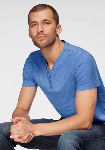 TOM TAILOR Polo Team T-Shirt mit V-Ausschnitt