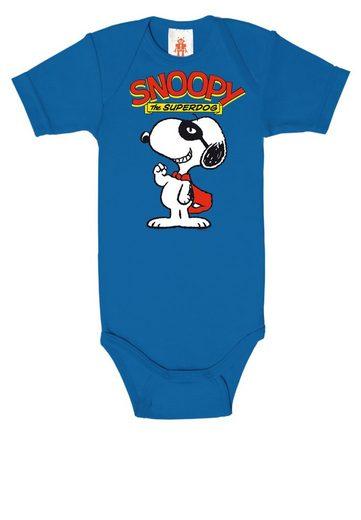 LOGOSHIRT Baby-Body mit niedlichem Snoopy-Motiv