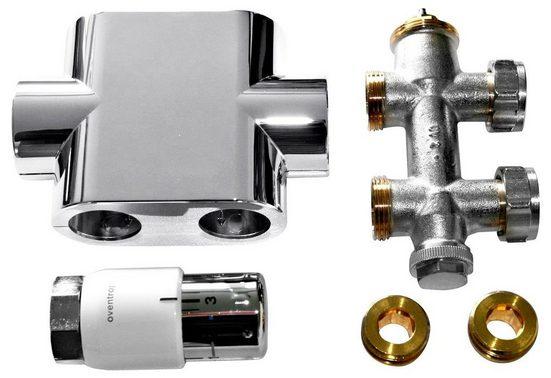 Sz Metall Badheizkörper Durchgangsanschluss »Universal«, chrom