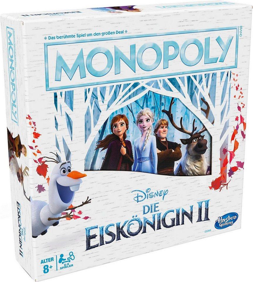 Hasbro Spiel, »Monopoly Disney Die Eiskönigin 2«