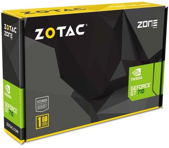 Zotac VGA Zotac GeForce® GT710 1GB Grafikkarte (1 GB)
