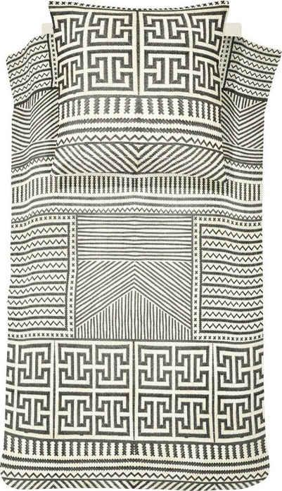 Bettwäsche »Basket«, damai, mit graphischem Muster
