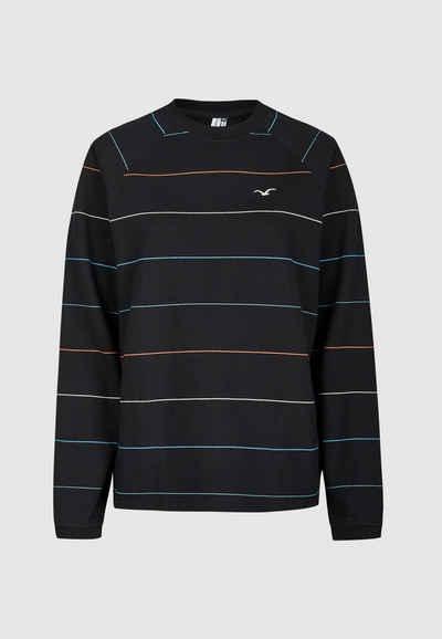 Cleptomanicx Sweatshirt »Multi Stripe« mit dezenten Streifen