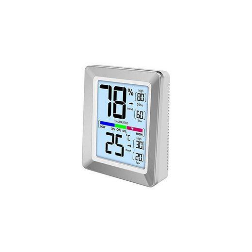 technoline »WS 9460 Raumklimastation silber« Wetterstation
